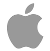 Apple_gray_logo100